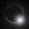 La luna pasa entre el sol y la tierra, a punto de un eclipse total de Sol, como se ha visto en Changsha, provincia de Hunan, China el 22 de julio de 2009. (REUTERS / Stringer)