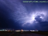 Lightning over Childress, Texas. This is where the ubiquitous Vortex 2 armada stopped for the night.