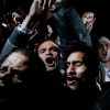 1st prize General News Singles Alex Majoli, Italy, Magnum Photos for Newsweek Protesters cry, chant and scream in Cairo's Tahrir Square, after listening to the speech in which Egyptian President Hosni Mubarak said he would not give up power. Cairo, Egypt, 10 February