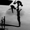 2nd prize Sports Stories Adam Pretty, Australia, Getty Images Divers practice during the 14th FINA World Championships at the Oriental Sports Center in Shanghai, China, 17 July.