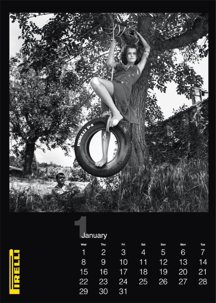 Calendario Pirelli 2014, por Helmut Newton