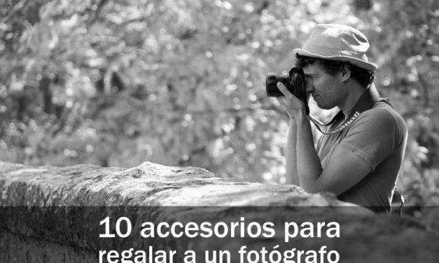 10 accesorios para regalar a un fotógrafo
