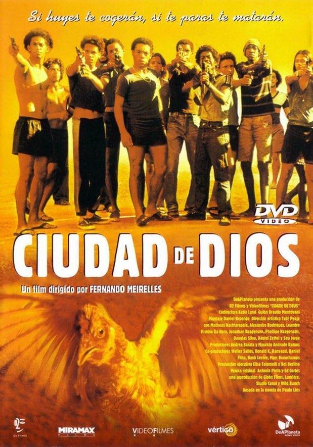 10. Ciudad de Dios (City of God) - 2002