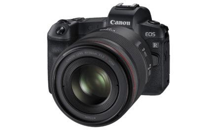Canon EOS R, la nueva Full Frame sin espejo con nueva montura RF