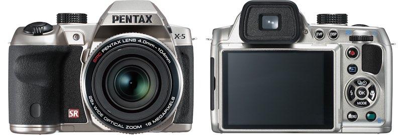Pentax X-5, la nueva superzoom con 26x
