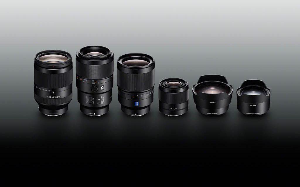 Sony amplía su gama de objetivos de montura tipo E