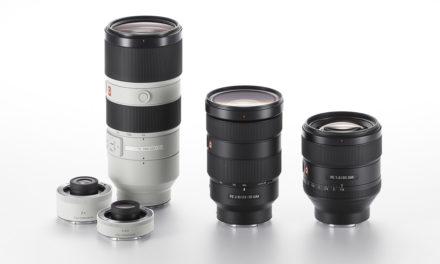 """Nueva gama de objetivos: Sony G Master, con tres objetivos """"Full Frame"""""""