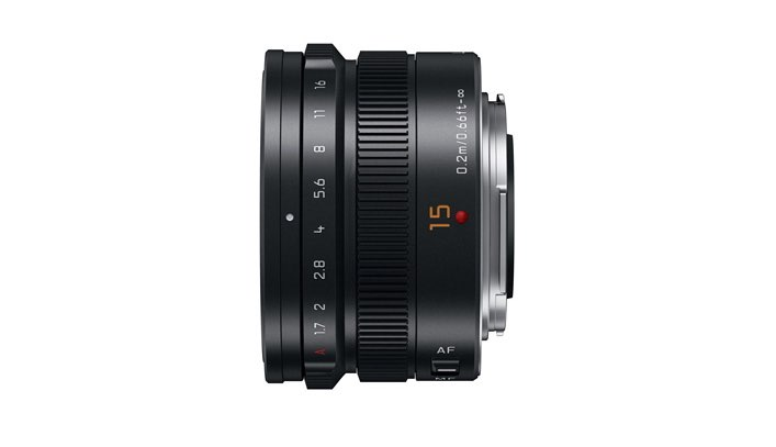 15mm-F1.7 ASPH lens (H-X015) Black side 2