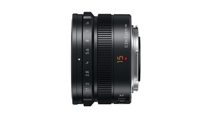 15mm-F1.7 ASPH lens (H-X015) Black side 2