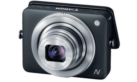 Canon PowerShot N, una cámara con un diseño peculiar