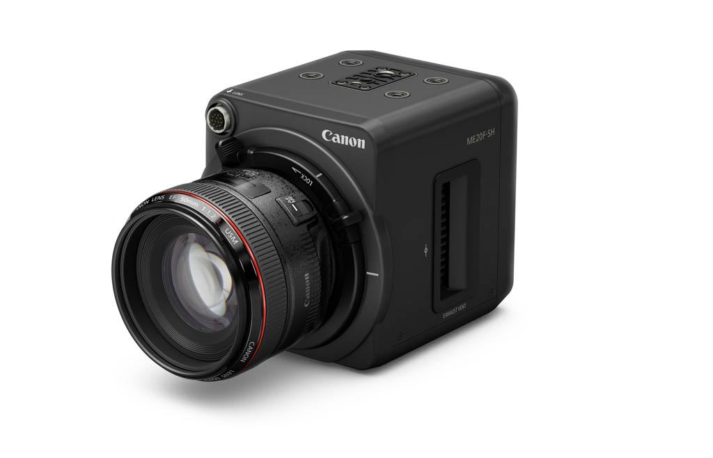 Canon ME20F-SH, una cámara que llega a más de 4.000.000 ISO