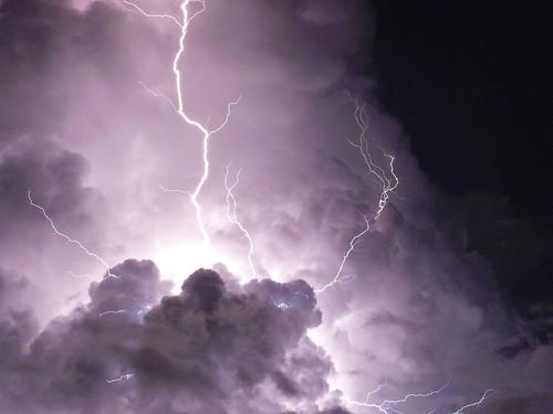 Fotografía de tormenta. Como se hizo?