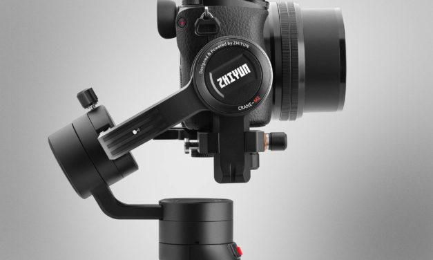 Zhiyun Crane M2, la actualización del estabilizador compacto más versátil