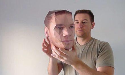 Transforma tus retratos en cabezas de papel en 3D
