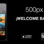 La app de 500 px vuelve a estar disponible en App Store después de ser retirada