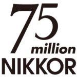 75 millones de objetivos Nikkor