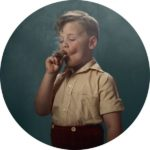 Los niños fumadores de Frieke Janssens