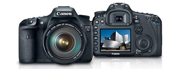 Nueva Canon EOS 7D y varios objetivos, confirmado!
