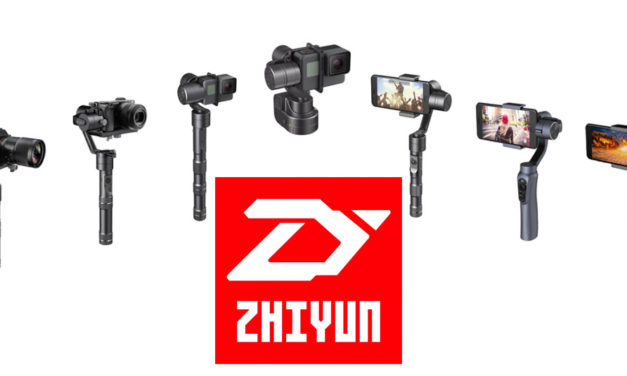 Zhiyun, estabilizadores para cámaras (con descuento especial para nuestros lectores!)