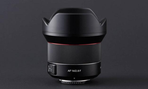 Nuevo Samyang AF 14mm ƒ2,8 F para Nikon