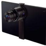 Nuevas funcionalidades para las cámaras Sony QX y adaptador para tablets