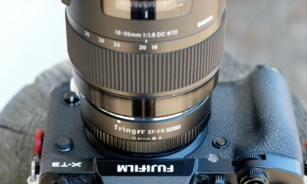 Montamos el Sigma 18-35mm ƒ/1,8 ART a una Fujifilm X-T3 con el adaptador Fringer EF-FX Pro II