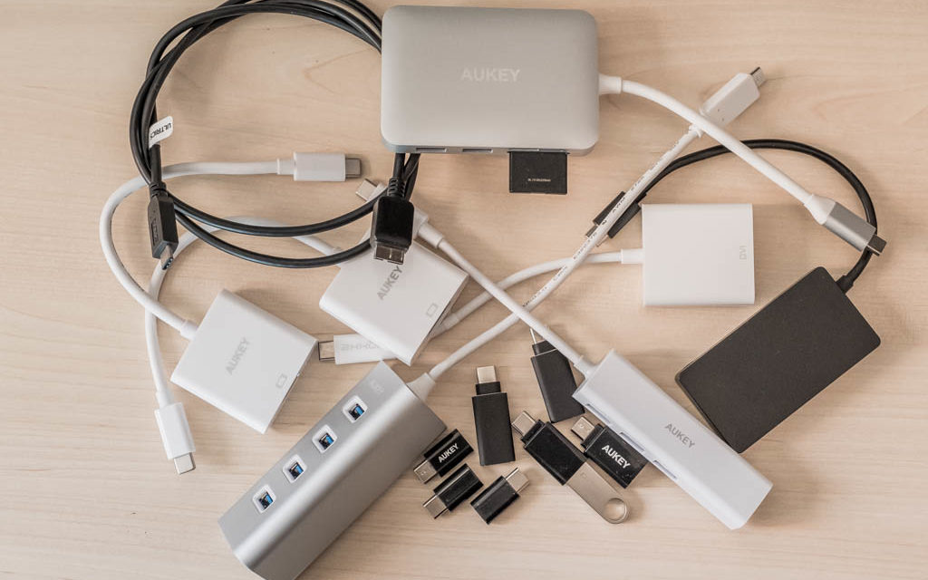 Adaptadores y cables USB-C para los nuevos MacBook y MacBook Pro