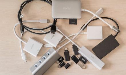 Adaptadores y cables USB-C para los nuevos MacBook y MacBook Pro