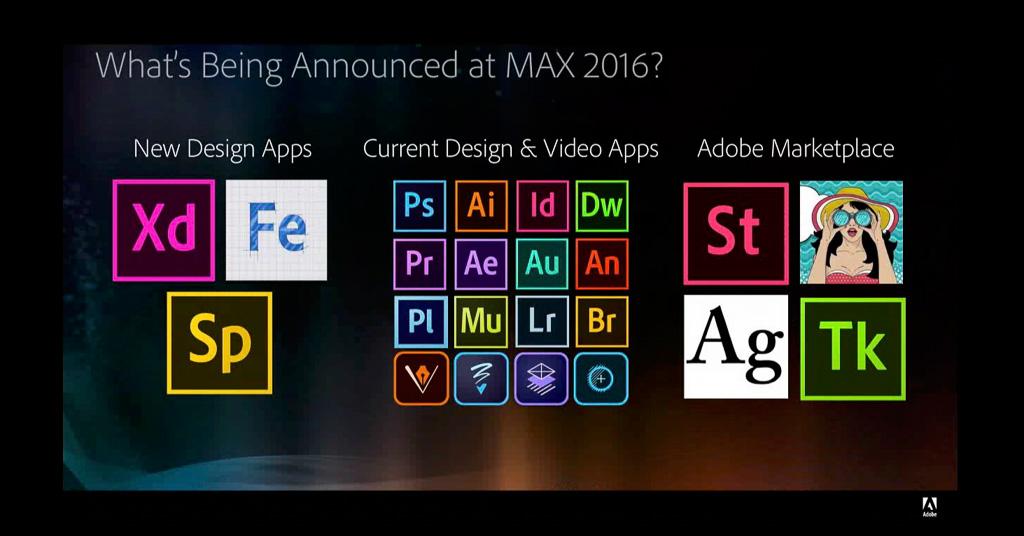 Novedades de Adobe presentadas en la Adobe MAX