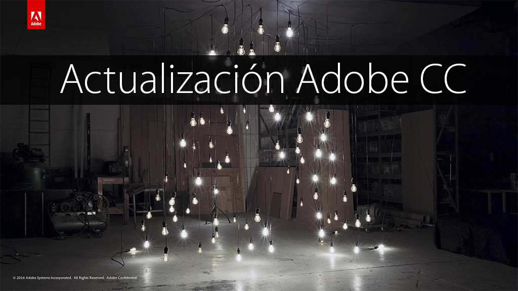Actualización de Adobe Creative Cloud con interesantes mejoras en Photoshop CC