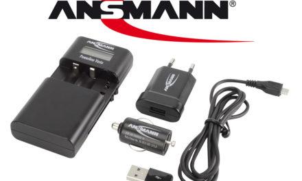 Carga todas tus baterías y pilas con el cargador Ansmann Powerline Vario