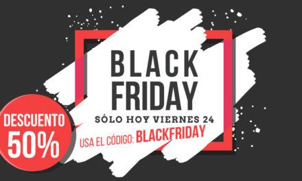 Especial descuentos Black Friday: Nuestros cursos -50%, camisetas para fotógrafos -20% y más