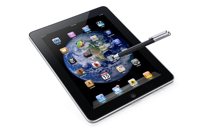 Wacom lanza el Bamboo Stylus para Apple iPad, el sustituto del dedo.