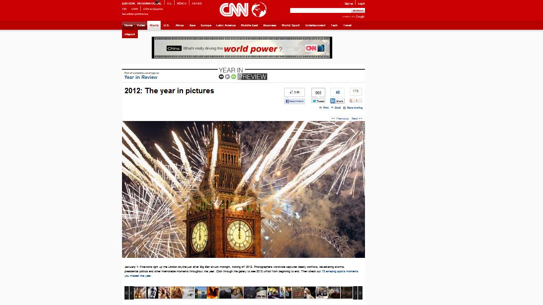El año 2012 en imágenes