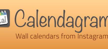 Calendarios de pared personalizados con Calendagram