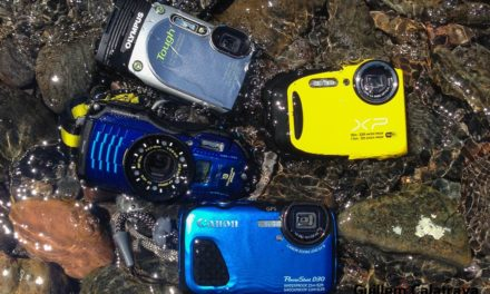 Comparativa de cámaras acuáticas
