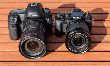 Canon EOS 5D Mark III Vs Fujifilm X-T1