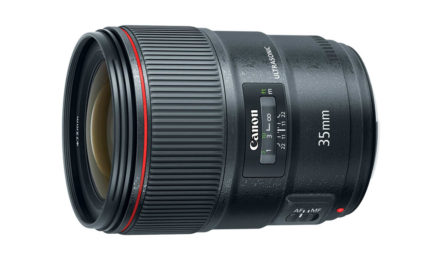 Nuevo objetivo Canon EF 35mm F/1,4 L II USM