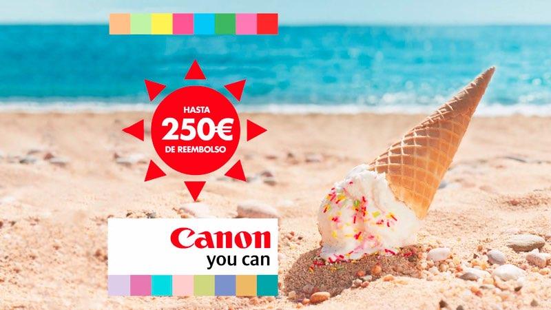 Aprovecha la promoción de reembolso de Canon #ReembolsoCanon
