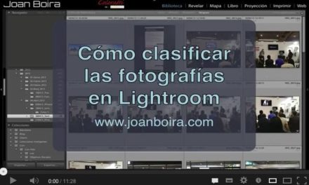 Clasificar fotografías con Lightroom (Videotutorial)