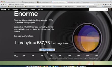 Nuevo Flickr, ahora con 1 Tb de espacio gratis