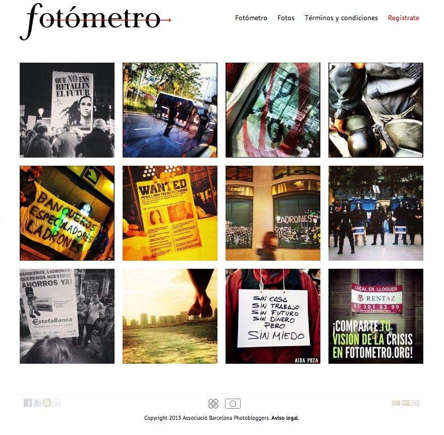 Comparte tu visión de la crisis en fotometro.org