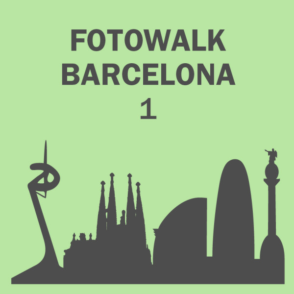 Fotowalk Barcelona I. Iniciando
