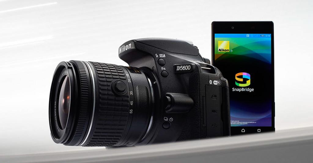 Nueva Nikon D5600, con conexión a SnapBridge (y poco más)