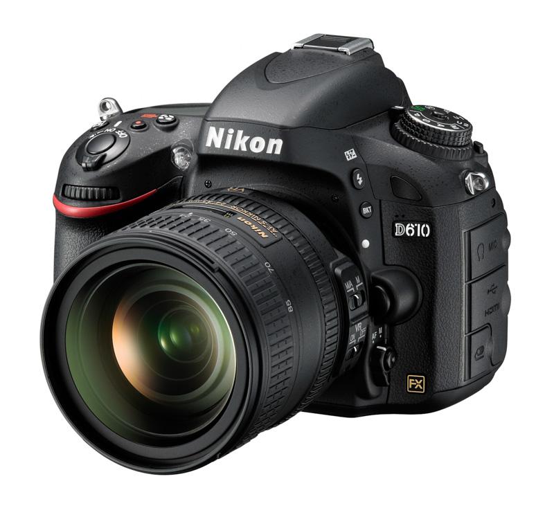 Nikon D610, una leve actualización de la D600