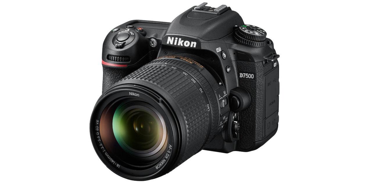 Nueva Nikon D7500 con 20,9 Mp, vídeo 4K y 1.600.000 ISO (forzado)