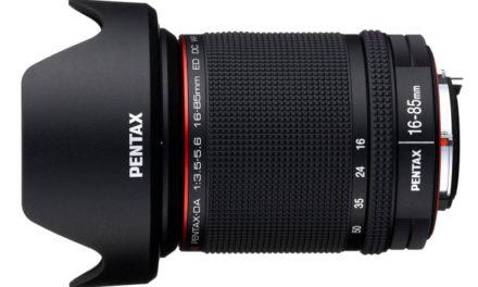 Pentax presenta un 16-85 mm para su montura K