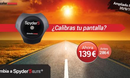 Promoción ampliada para actualizar tu calibrador al Spyder5Elite+ de Datacolor