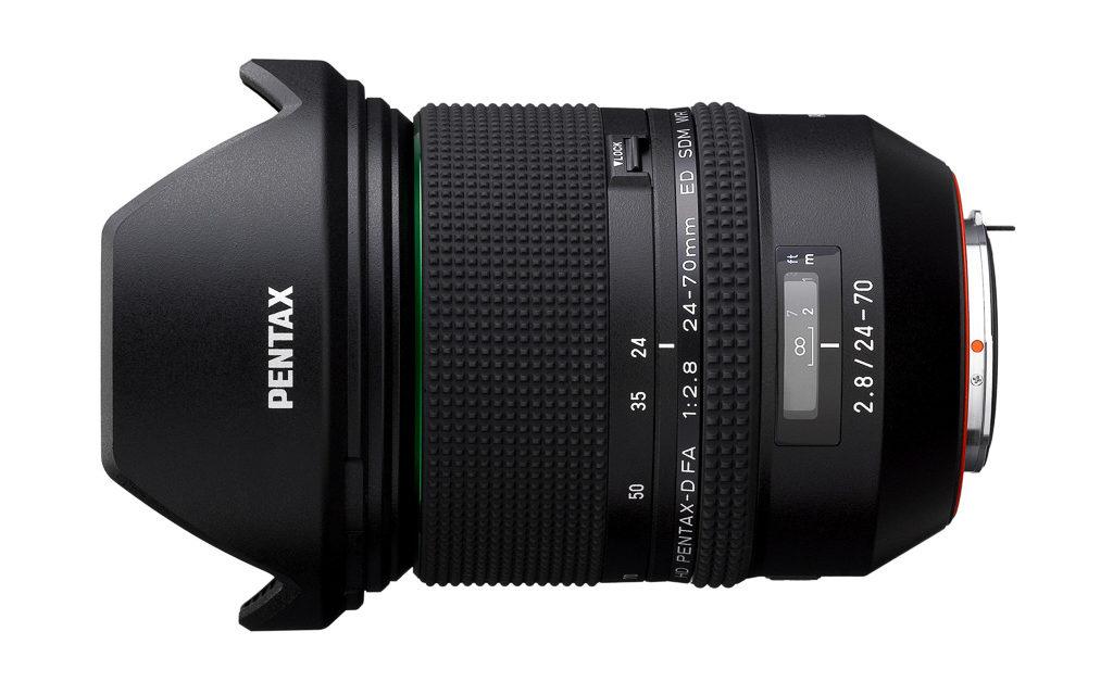 Nuevo objetivo Pentax 24-70mm f/2,8 ED