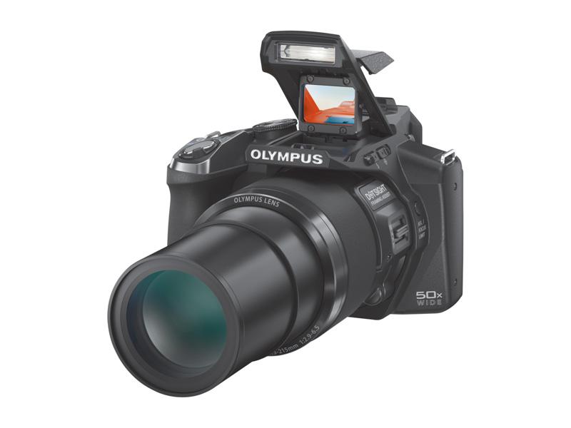 Olympus SP-100EE, la primera cámara con mira telescópica